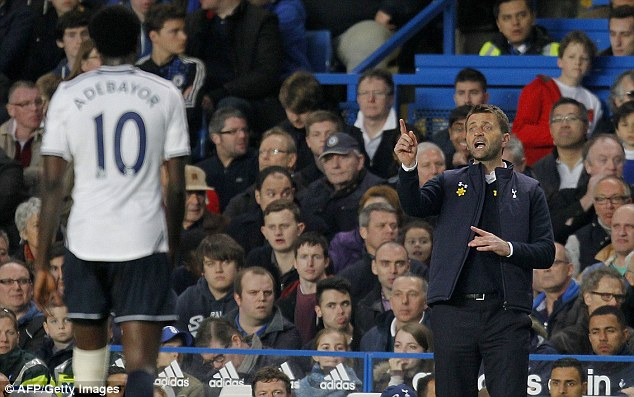 Telling it how it is: Sherwood ripped into his Spurs side after defeat to Chelsea
