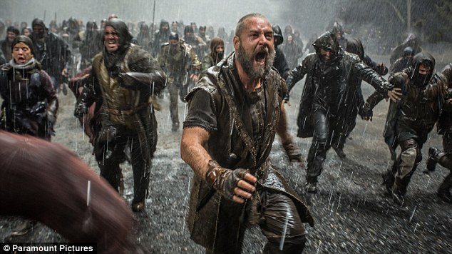 Fatwa: Noah, a blockbuster starring Russell Crowe, pictured, has been banned in three Arab countries and three more could soon follow after a fatwa was issued against it by leading figures in Sunni Islam