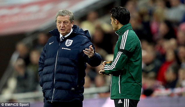 Decision maker: Roy Hodgson has to decide who to take to Brazil