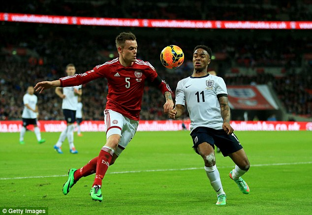 New option: Liverpool's Raheem Sterling has emerged as an attacking option for England