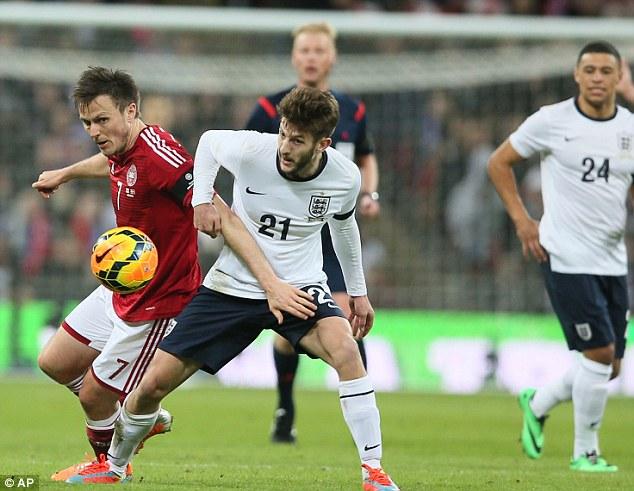 Positive: Lallana helped create England's winner
