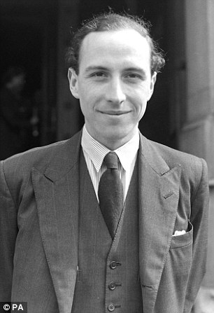 Passionate: Roy Jenkins (pictured) recalled Tony Crosland as 'immensely good-looking and elegant'