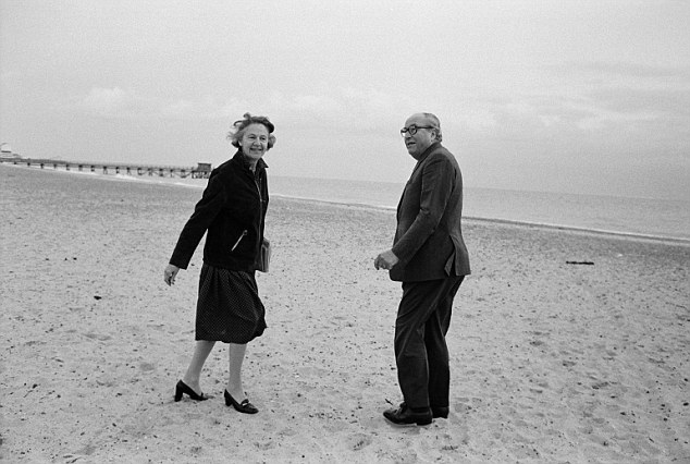 Couple: Roy Jenkins' numerous affairs failed to destroy his long and lasting marriage to his wife Jennifer