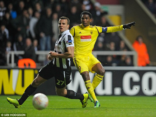 Accumulate: Eto'o made most of his millions while playing for the Russian side Anzhi Makhachkala
