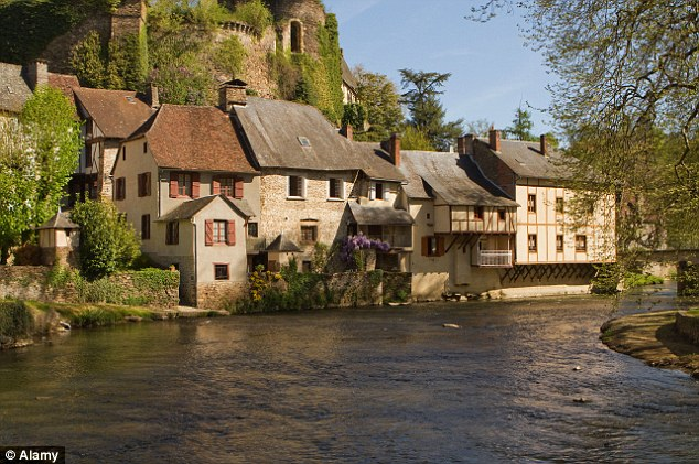Rural retreat: The beautiful medieval village of Ségur-le-Château is well worth a visit
