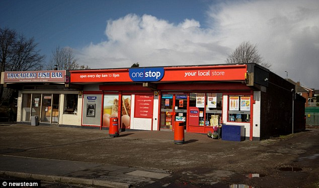 Purchase: Mrs Roberts bought the pack of bananas from this OneStop Store (pictured) near their home