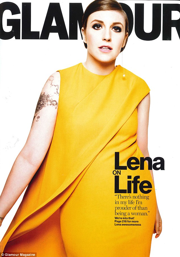 Moving on? Lena Dunham has admitted she may quit acting to focus on writing and is relieved on days when she does not have to act