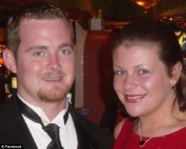 Loss: Jennifer Lee Wolfe, 35, called her husband James after she drove into a pond and began sinking