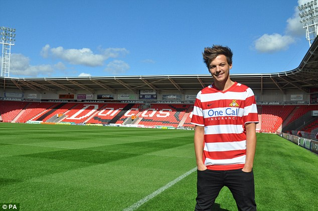 Pulling power: Tomlinson is a patron of Doncaster-based Bluebell Wood Children's Hospice