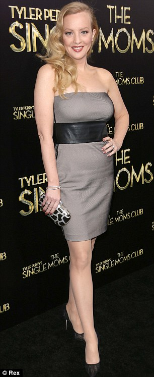 Also-rans: Fine fillies Wendi McLendon-Covey and Cassie Brennan looked good but were no match for Amy