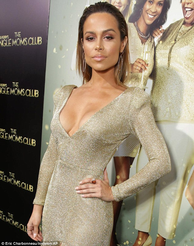 There must be something in the water: Sofia Vergara's fellow Colombian beauty Zulay Henao flaunted her considerable charms with this plunging neckline