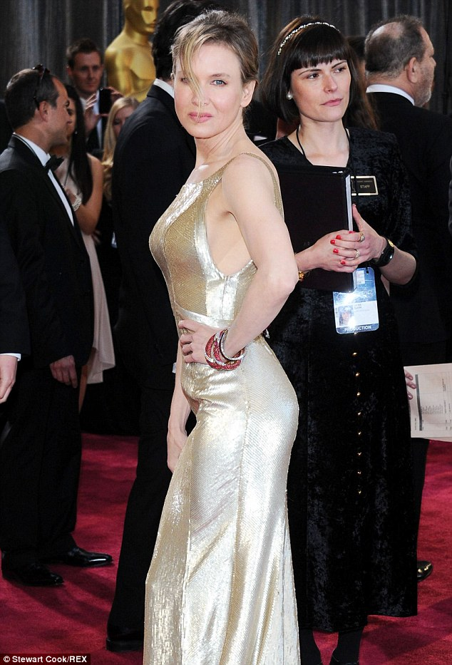 Oscars 2013: The Jerry Maguire actress' youthful looks sparked rumors she had Botox