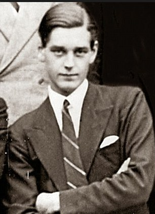 Anthony Crosland as a young man