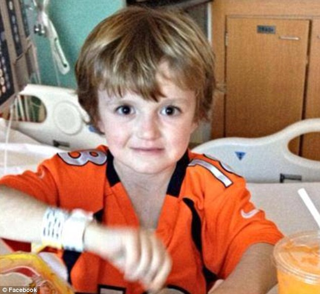 Hope: Josh's family say the virus that was killing him could be gone by next week