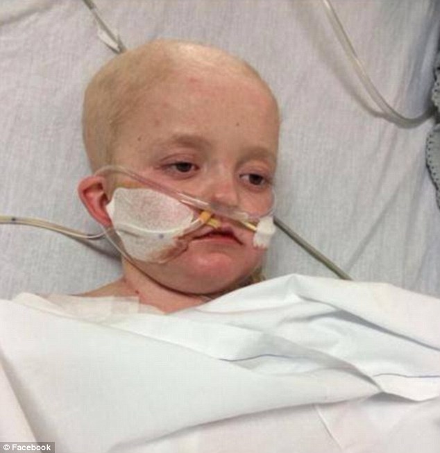 Frail: Before getting the drug Josh was in intensive care, with his heart and kidneys failing