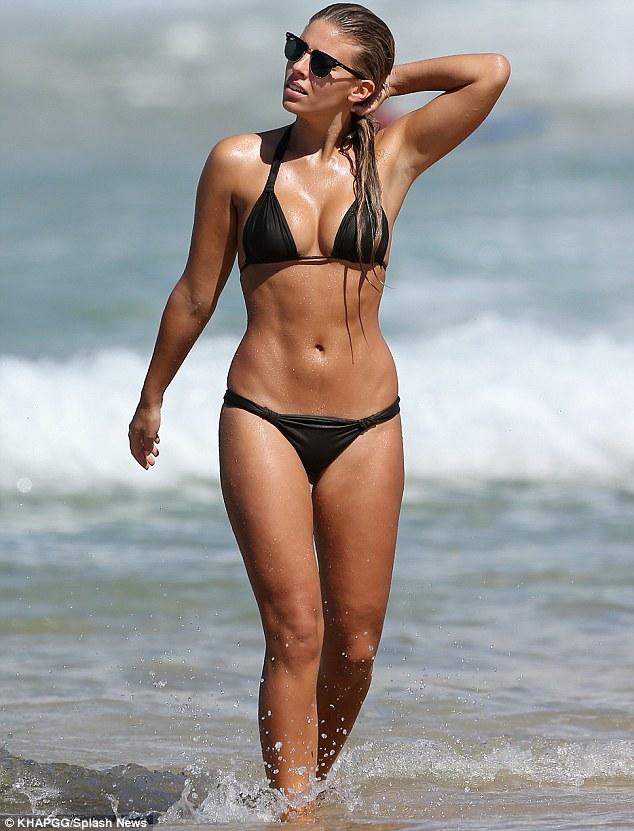 Who turned up the heat? Australian swimsuit model Natasha Oakley sizzles on Sydney's Bondi Beach