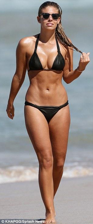 Bikini ready: The model and blogger has more than 400,000 Instagram followers and also runs popular account A Bikini A Day