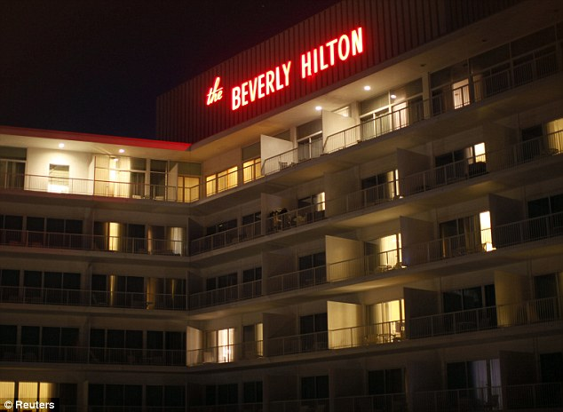 Singer Whitney Houston was found dead in room 434 of the Beverly Hilton Hotel on February 11, 2012