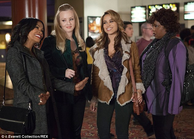 Single and ready to mingle: Nia, Wendi, Zulay and Cocoa Brown are just some of the stars in the comedy