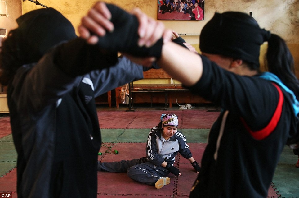 The women spar together and support one another in their bid to attain Olympic glory