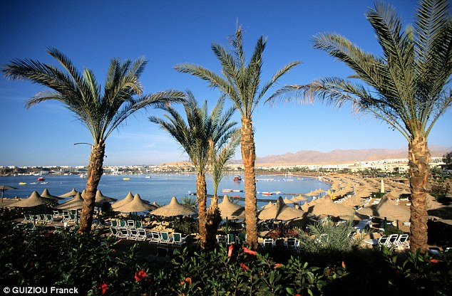 Stunning: The luxury accommodation and warm climes on offer in resorts such as Sharm El-Sheikh, where many tournaments are staged, are attractive for players beneath the world tours