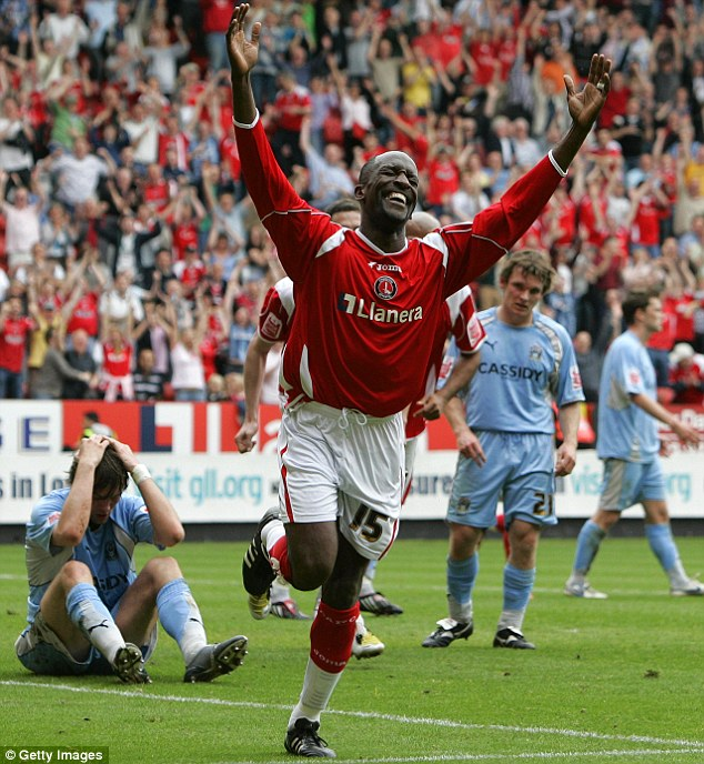 Addicks addict: Powell is a cult hero at Charlton, having played more than 250 matches for them