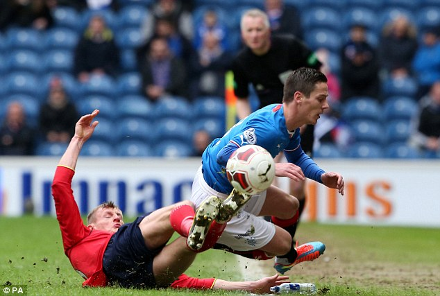 Success story: McCoist said signing  Ian Black on free transfer was a good piece of business