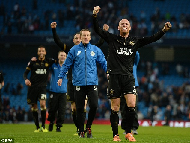 Finances don't always guarantee results: McCoist said if money was everything in football then Manchester City would be Champions League champions reguarly but they still lost to Wigan in the FA Cup