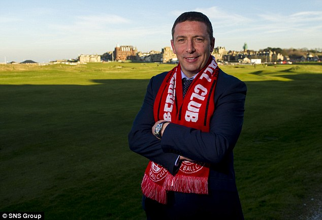 Confused: Aberdeen manager Derek McInnes is baffled by the complaints of Inverness counterpart John Hughes ahead of the League Cup final on Sunday