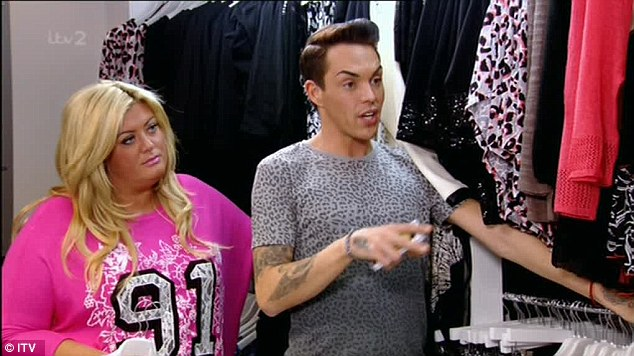 Disbelief: Bobby reads out a text message from the 'fishfinger' which Danielle refuses to believe