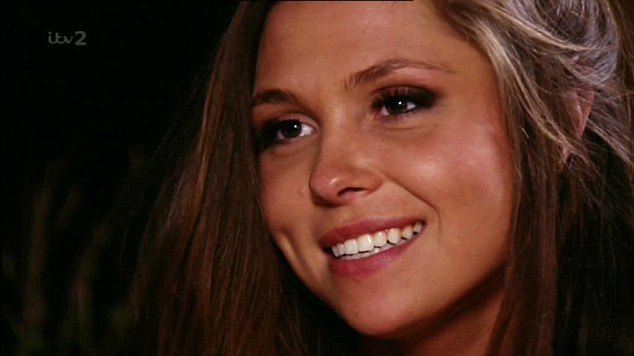 Look of love: Fran finally admits her feelings for Diags