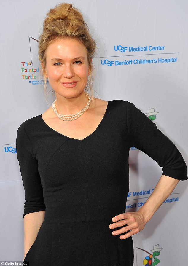 Long time no see: Zellweger has not been at an event for five months