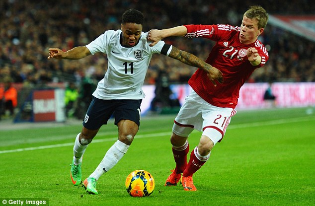 In-form: Raheem Sterling (left) has impressed for Liverpool and could earn a call to the World Cup
