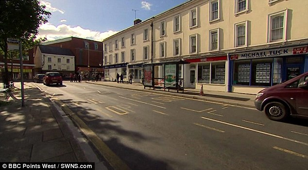 McIntosh crashed after falling asleep during the night shift in Gloucester city centre just before 1am on September 29