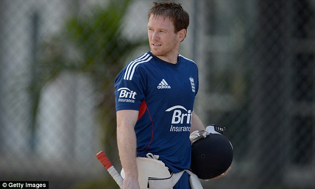 Stand in: Eoin Morgan has been in charge for the series in the Caribbean
