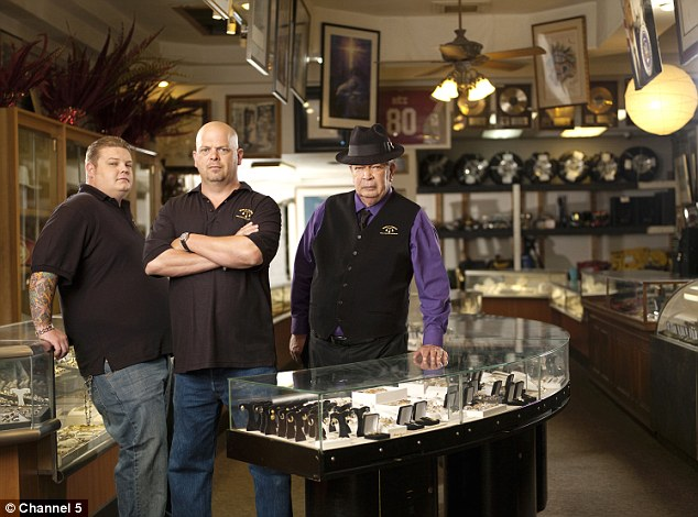 Hit: Las Vegas-based Pawn Stars is the highest rated show on History