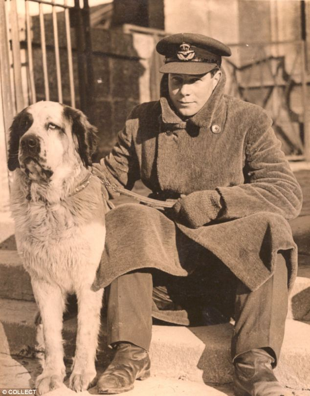 Sq Ldr Billy Drake pictured during the war