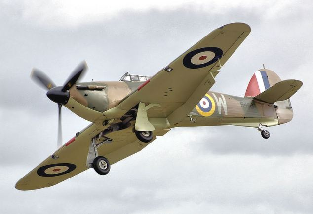 The Hurricane first flew in November 1935 and 14,533 were produced between 1937 and 1944