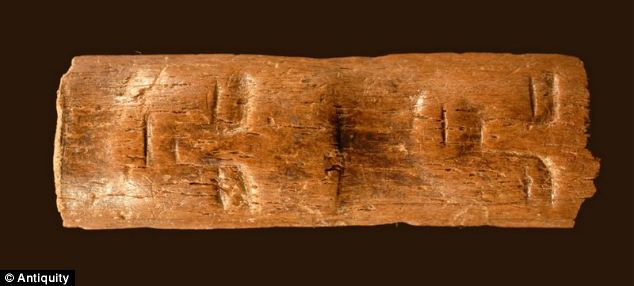 The 9,000-year-old wand with two faces carved into it was discovered in Syria.