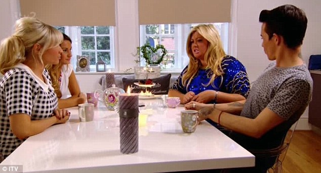Spiritual: Gemma gave her opinion the cheating scandal and bought in her magical crystal to reveal the truth