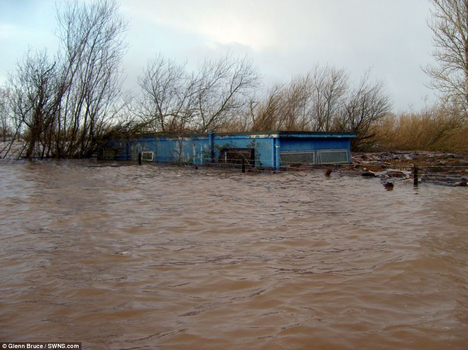 Mission: Parts of the Somerset Levels had to be evacuated due to several feet of flooding