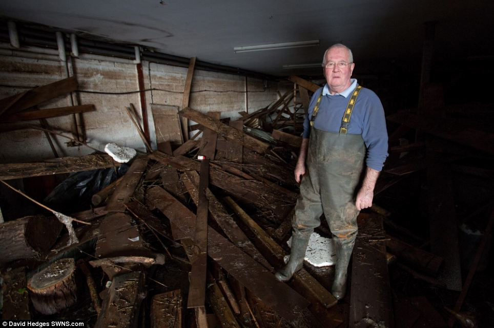 Loss: Mr Craddock could not insure his business due to a previous flood