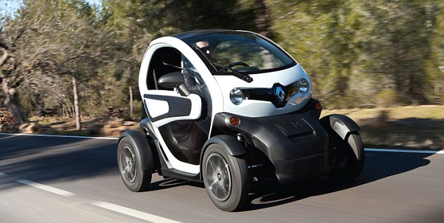 Renault Twizy: The small car is designed to be a city runaround - not a vehicle that does long journeys