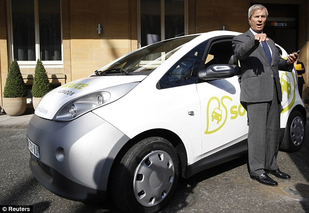 Vincent Bollore: The chief is looking to increase the number of charging points in the capital