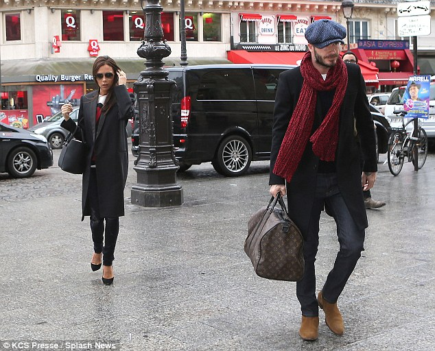 Paris: Victoria and her husband David Beckham travelled to the French capital to during Fashion Week