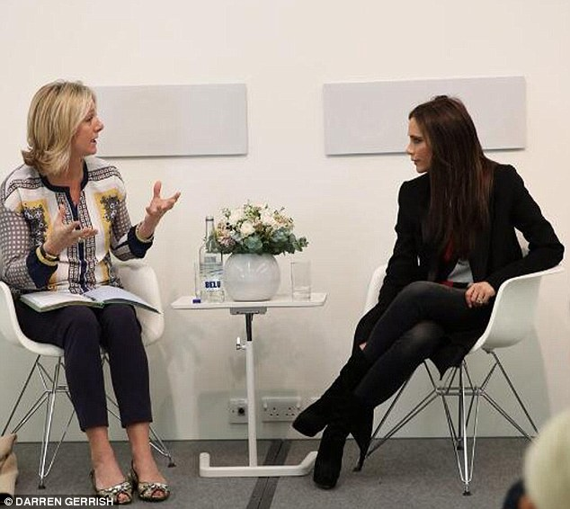 Q&A: Victoria was invited by Principal, Susie Forbes, to talk to the students on Wednesday