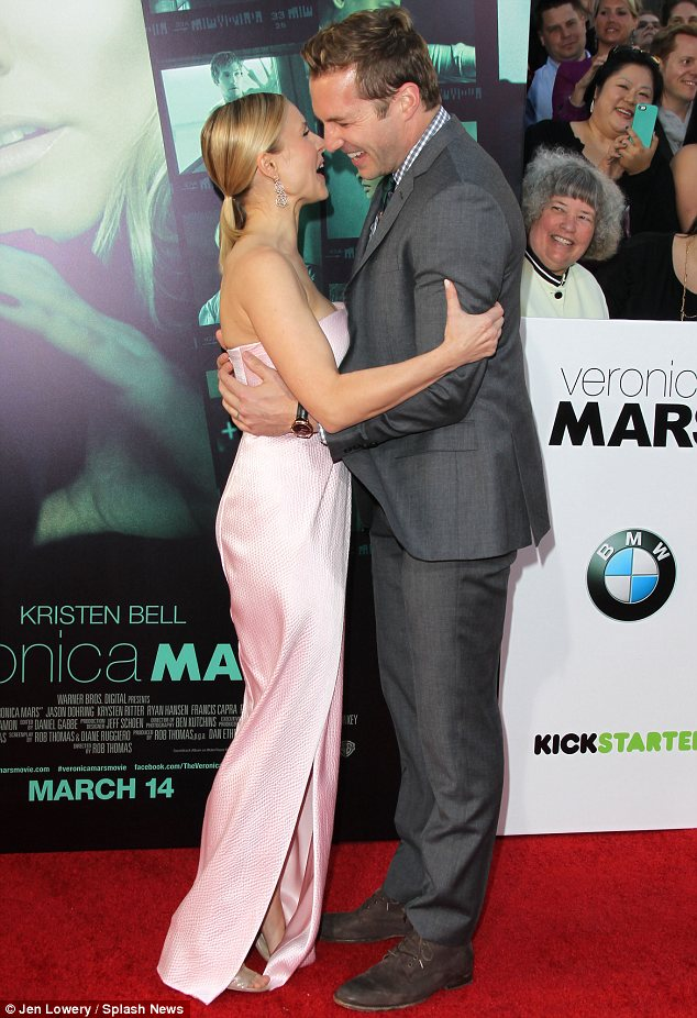 Close: Kristen and Ryan have remained so close that he and his wife even lived with her after they got married