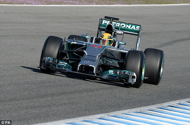 Stage is set: Hamilton is eyeing a second world title, his first with Mercedes