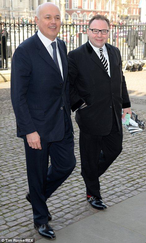 Iain Duncan Smith and Jonathan Shalit