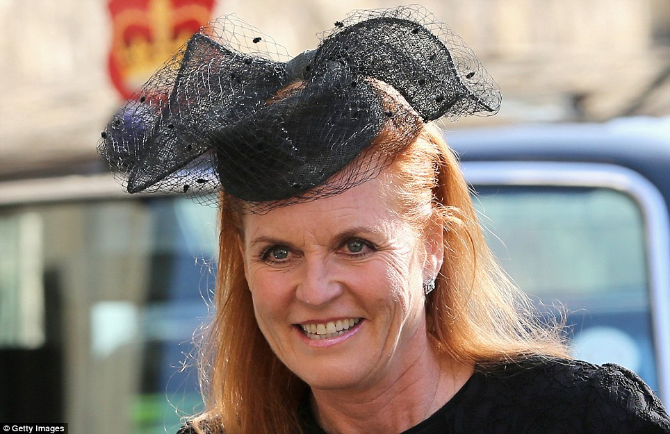 Sarah Ferguson attended with her daughter Princess Beatrice